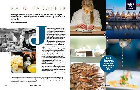 Smaken av Gøteborg, publisert i Maison Mat & Vin (sept -13)