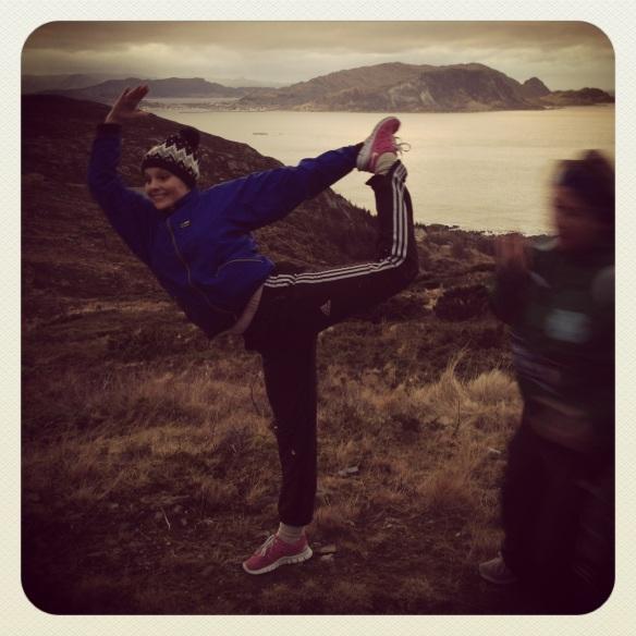 yoga i fjelllet