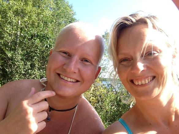 Heidi og meg i sommer
